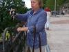 Татьяна Широлапова фотографирует монастырь